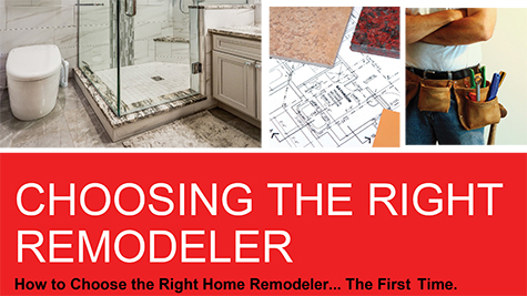 Choosing the Right Remodeler