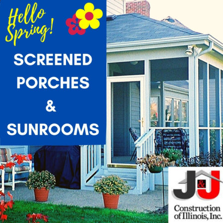 Screened Porches and Sunrooms - J&J Construction