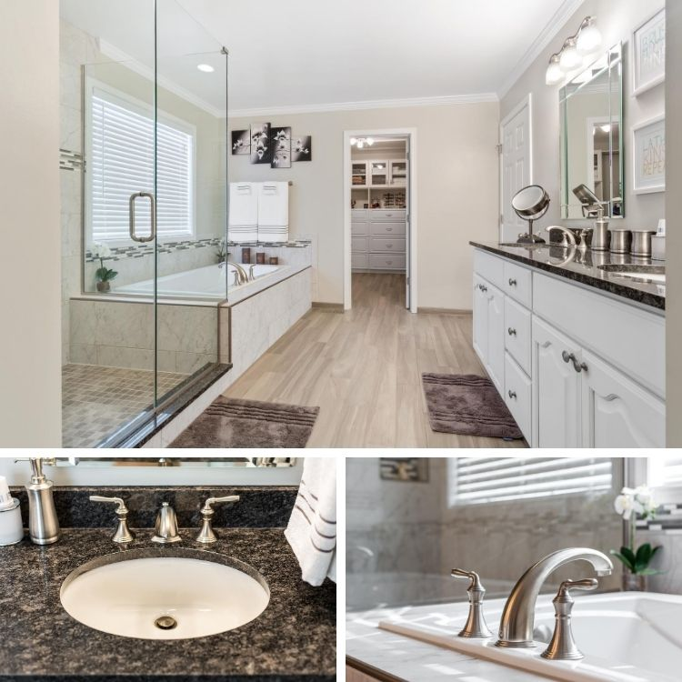 A Big St. Charles Master Bathroom Reveal