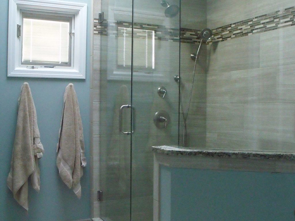 A lovely Naperville bathroom remodel