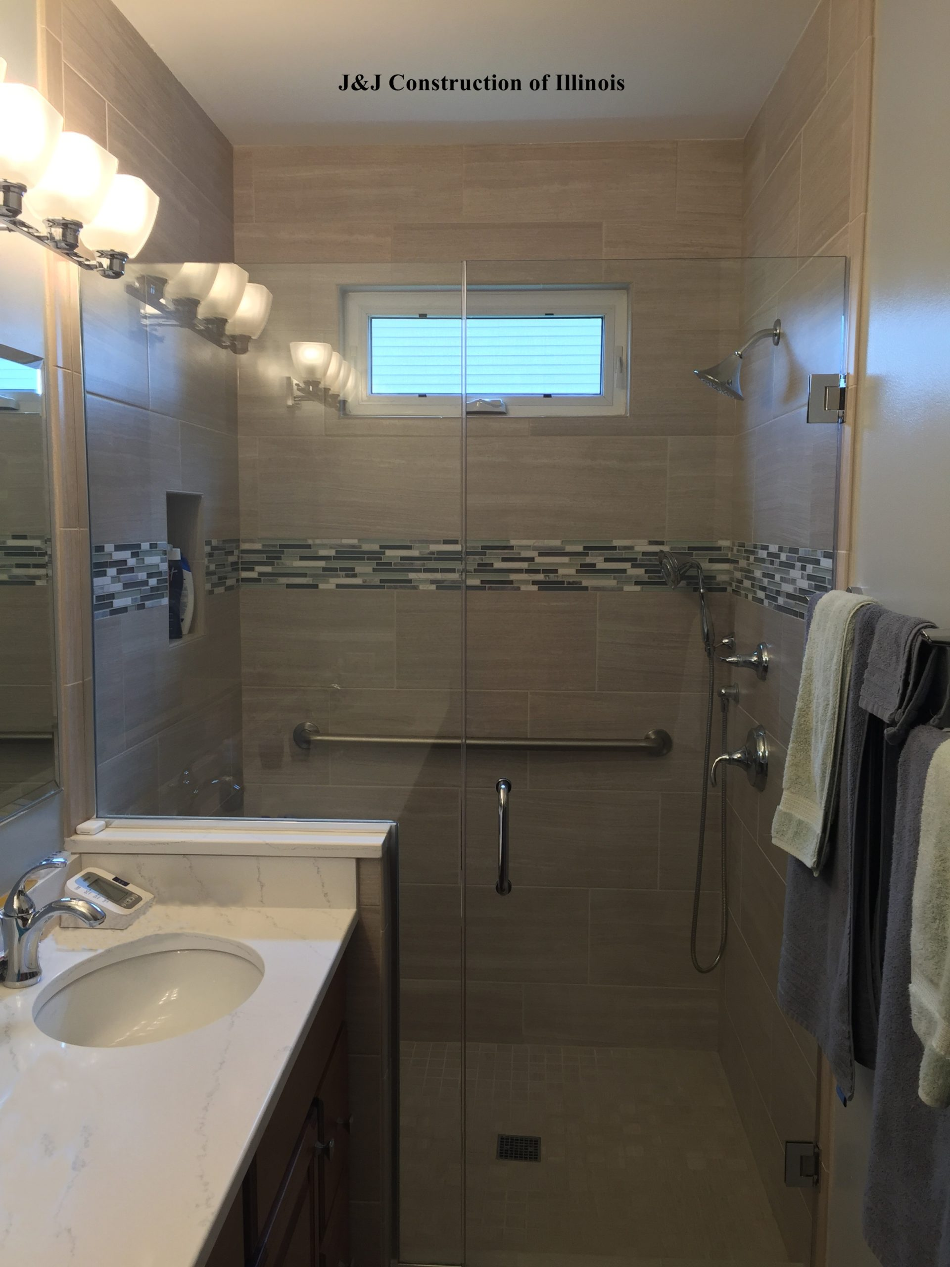 A Naperville Bathroom Remodel that Took Just 7 Days!