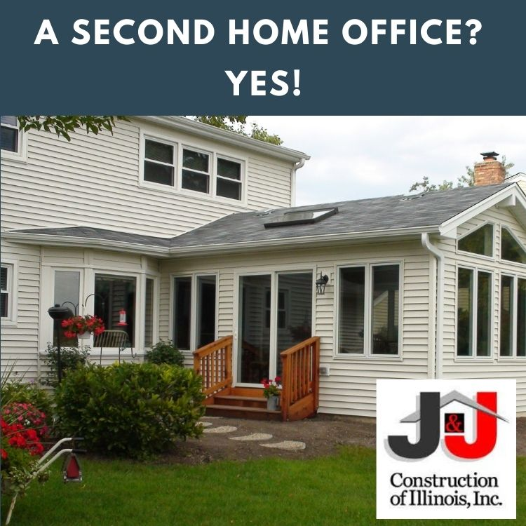 A Second Home Office? Yes! J&J Construction