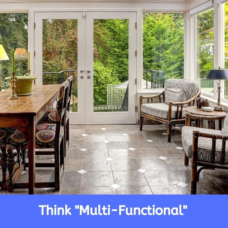 Adding Multi-Purpose Spaces to Your Home