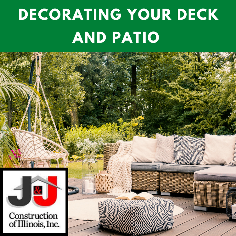 Decorating Your Deck and Patio by J&J Construction