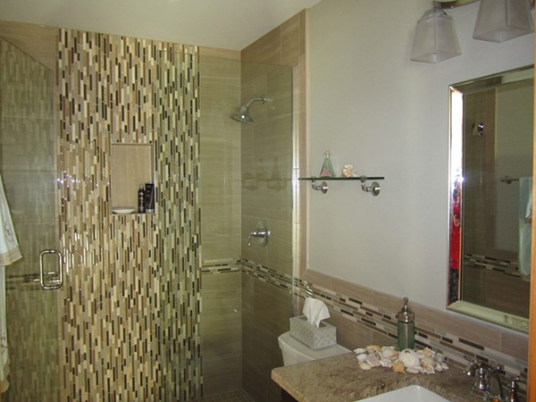 Elegant Guest Bathroom in Naperville