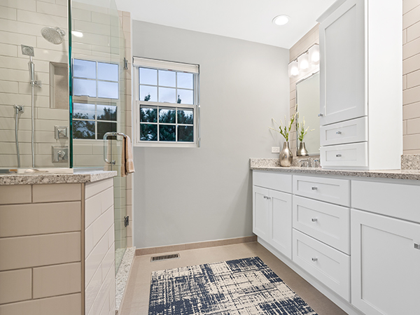 Inspired Changes In This Plainfield Master Bath Project