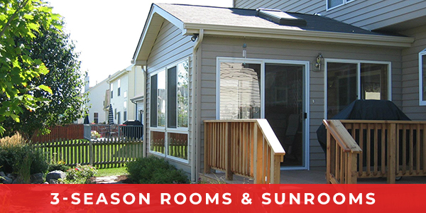 3-Season Rooms & Sunrooms