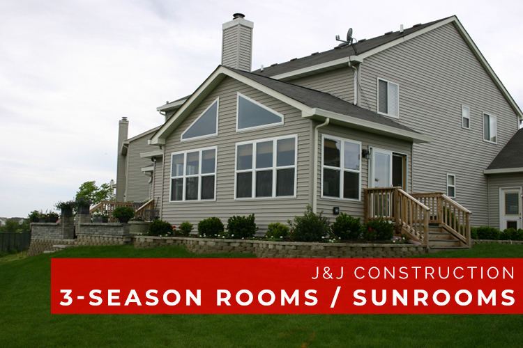 3 Season Rooms and Sunrooms - J&J Construction
