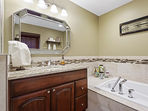 Chicagoland Bathroom Remodeling - Convenience & Function - J&J Construction