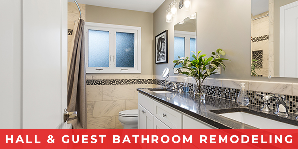 Hall & Guest Bathroom Remodeling