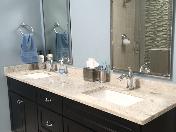 Returning Client Remodels Three Bathrooms