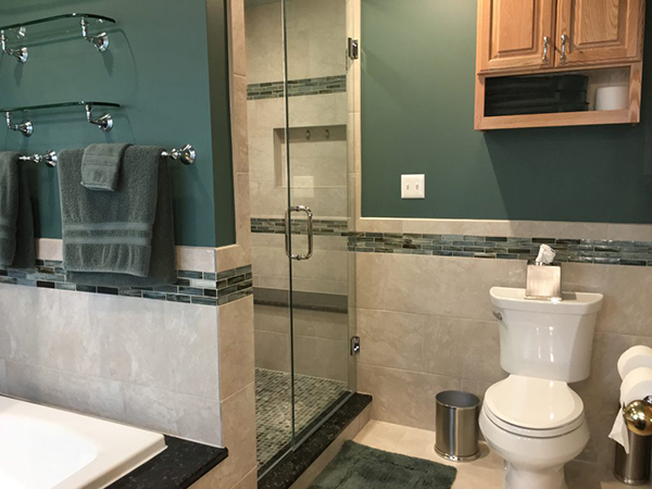 Stunning Master Bathroom Renovation in Aurora IL