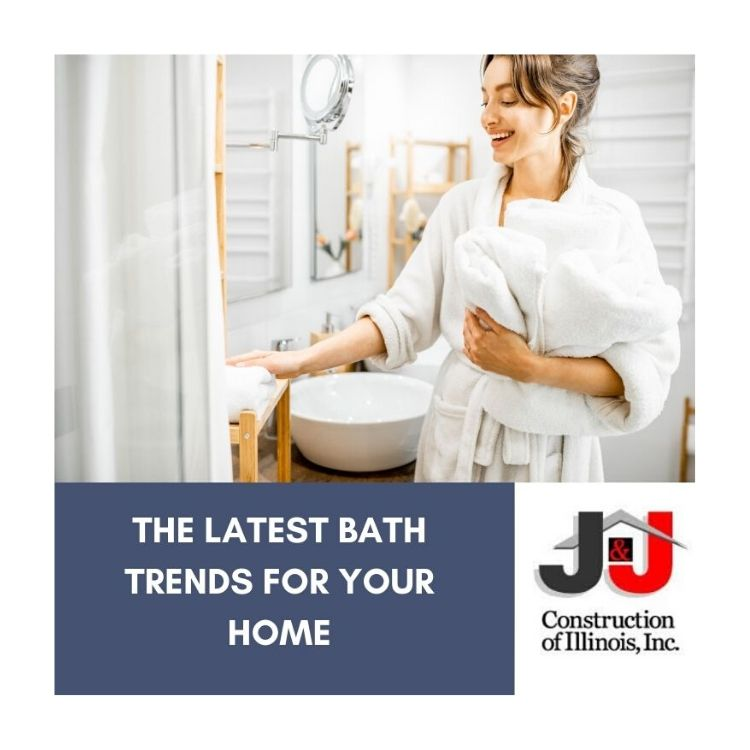 The Latest Bath Trends For Your Home