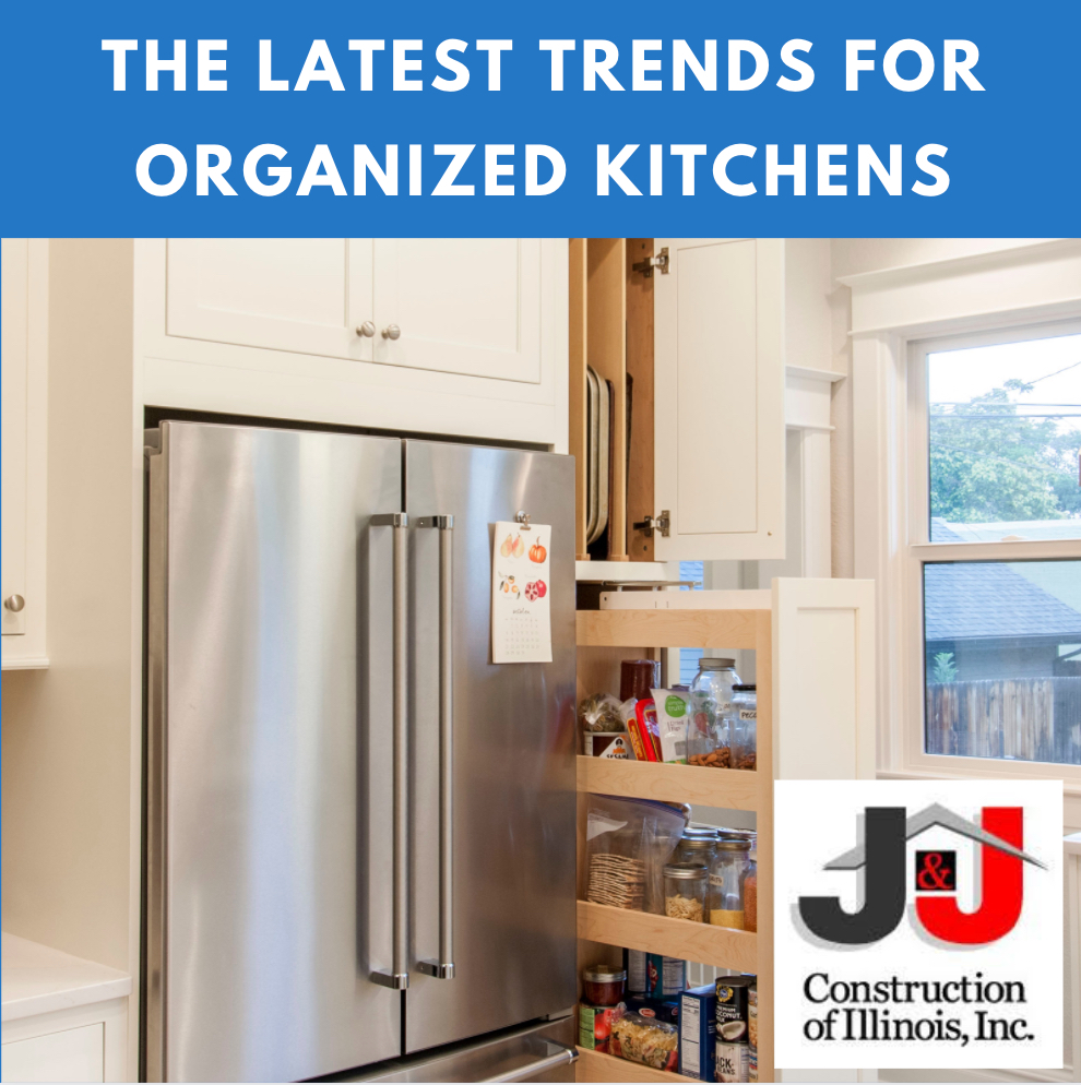 The Latest Trends For Organized Kitchens